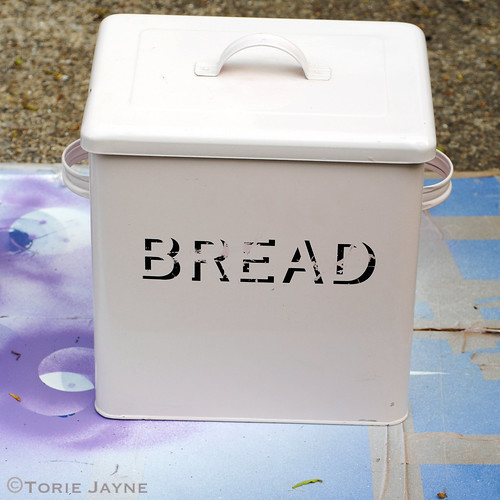 Old bread tin