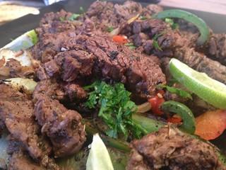 Beef Fajitas : Close Up