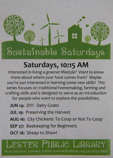 Sustainable Saturdays