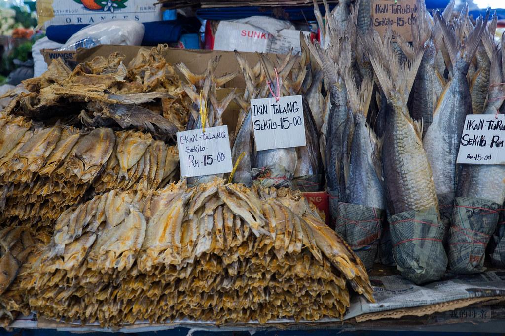 Ikan Talang at Sandakan local market, Borneo, Malaysia.jpg