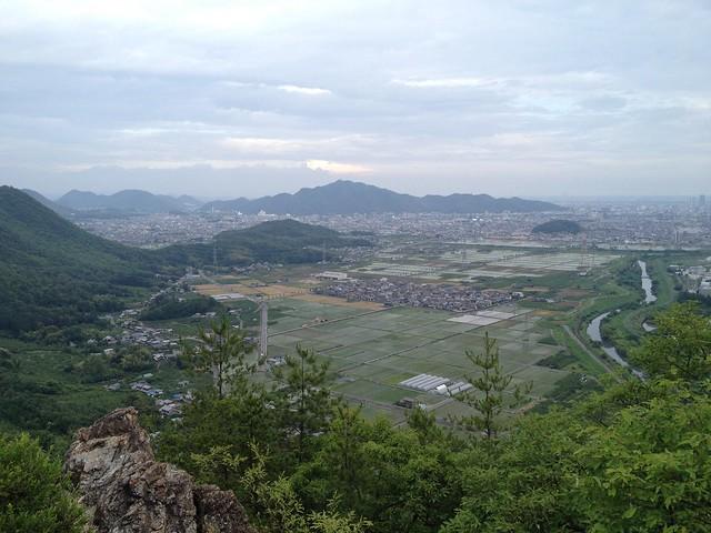 石谷 展望岩からの眺望