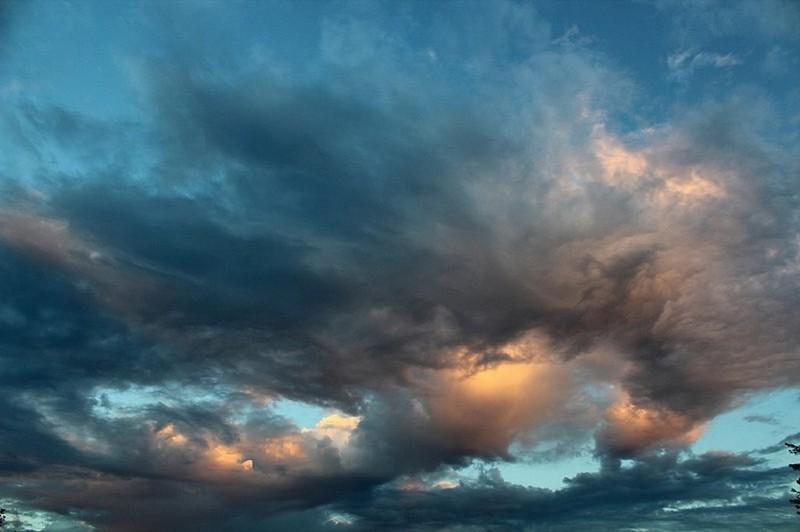 nuage et soleil