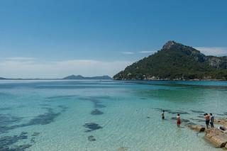 Bild av Platja de Formentor. spain mallorca majorca balearicislands majorka hiszpania morześródziemne baleary
