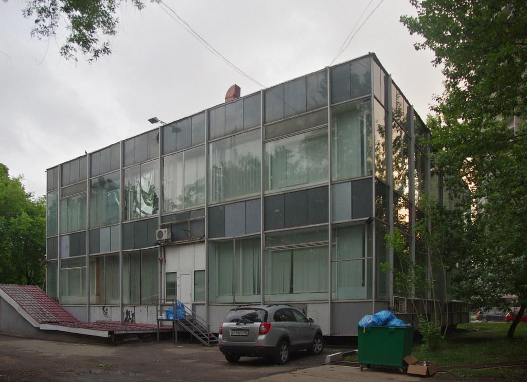Типовой московский проект парикмахерской 60-х