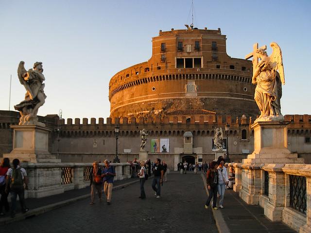 Castillo y puente de Sant'Angelo