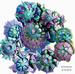 art, pattern, flower, purple, violet, brooch, petal,