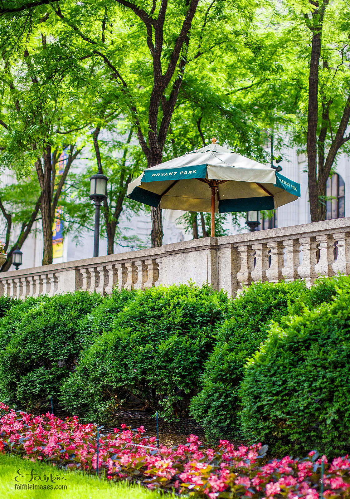 The cosy charm of Bryant Park
