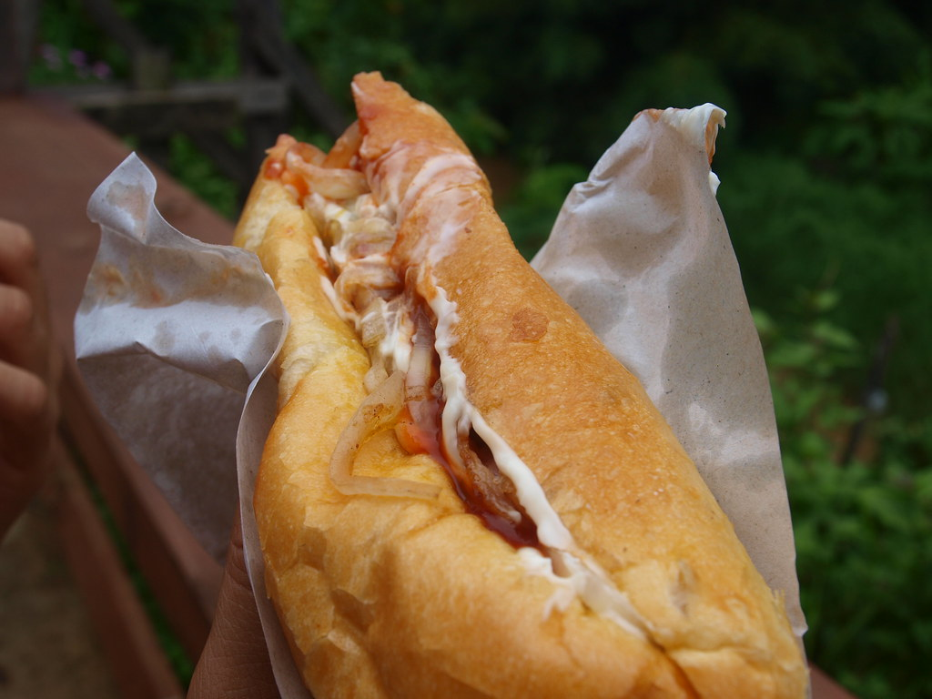 Delicious Lao Sandwich in Vang Vieng