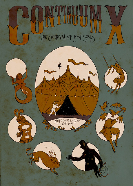 Continuum X program cover
