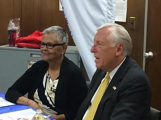 NJ12 Democrat Bonnie Watson Coleman & Rep. Steny Hoyer