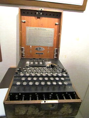 006 Enigma Machine National Cryptologic Museum Fort Meade MD 1059