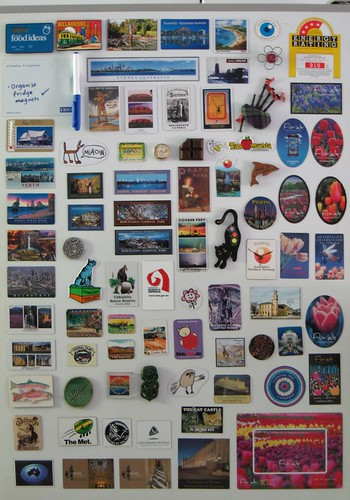 Fridge magnet collection 2010
