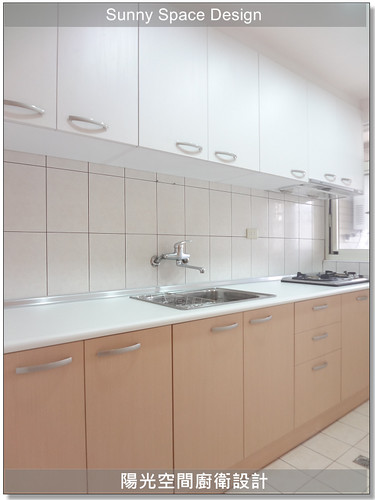 廚具大王林易延-作品192-永和永貞路徐小姐一字型廚具-陽光空間精品廚具