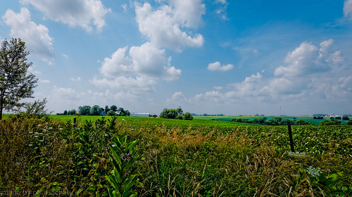 summer sky nature clouds barn landscape corn cornfield midwest day cloudy farm iowa dxo canon1740f4l
