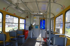 Moscow tram Tatra T3SU interior