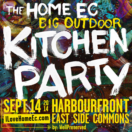 The Home Ec (Big Outdoor) Kitchen Party HomeEc Big Outdoor Kitchen Party HomeEc harbortfront center