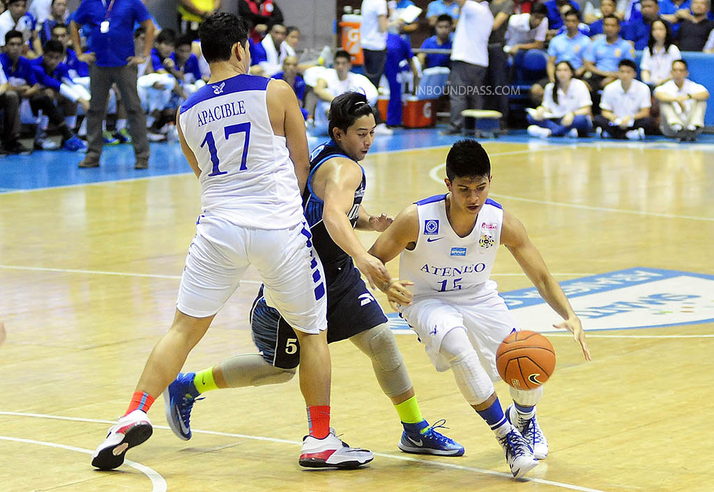 UAAP Season 70: Ateneo Blue Eagles vs. Adamson Falcons, July 13