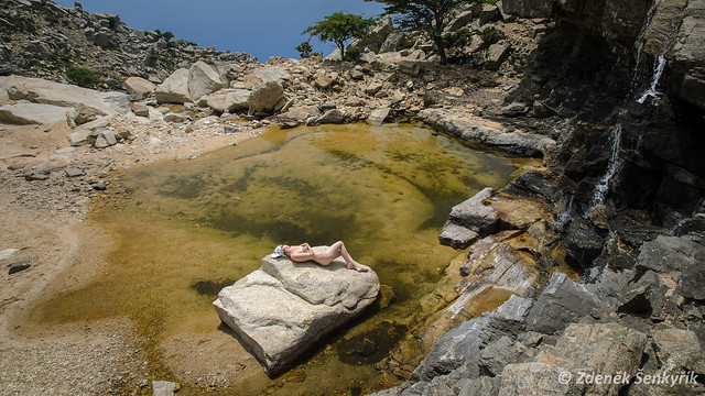 Selini pool Ikaria Greece