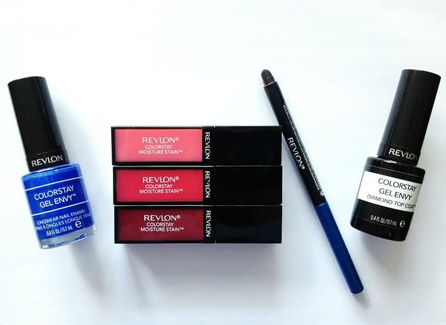 Revlon-Colorstay-Group, gel polish, nail polish, lipgloss, lip stain, eyeliner