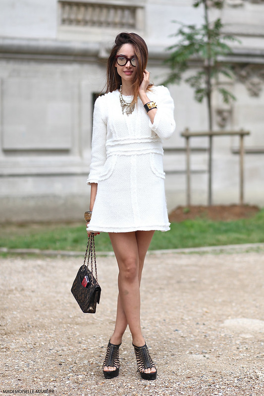 Patricia Contreras at Paris fashion week Haute Couture