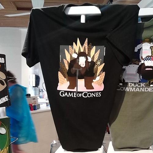 Game of Cones t-shirt,  Cows,  Peakes Quay #princeedwardisland #pei #charlottetown #peakesquay #cows #gameofthrones