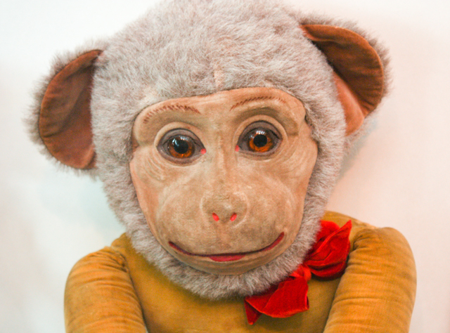 monkey toy - museum of childhood