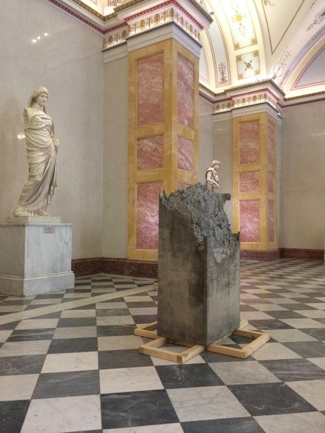Lara Favaretto, Installation view, MANIFESTA 10, Winter Palace, State Hermitage Museum, 2014.