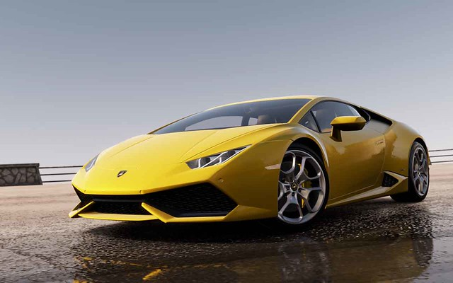 the lamborghini huracan is the hero car of forza horizon 2 carzgarage. Black Bedroom Furniture Sets. Home Design Ideas