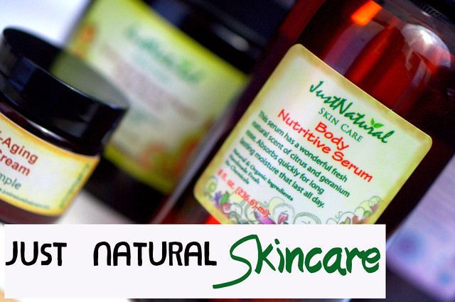 Need A New All Natural Skincare Brand To Try? Get Some Just Natural In Your Life!