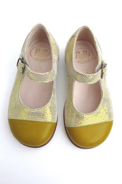 PèPè Children Shoes pe 15  cod 1215 CHIGNON GIALLO 138€