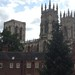 York Minster as seen from the NW city wall
