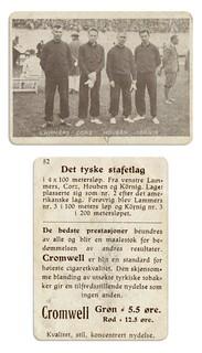 Det tyske stafettlag i 4 x 100 meter under OL i Amsterdam 1928