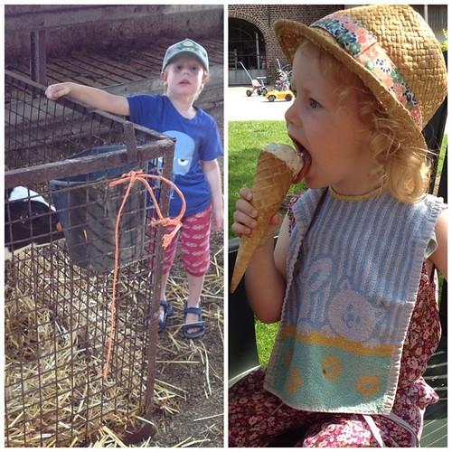 Dag 24: boerderij en ijsjes #dezomervan2014 #valleihoeve