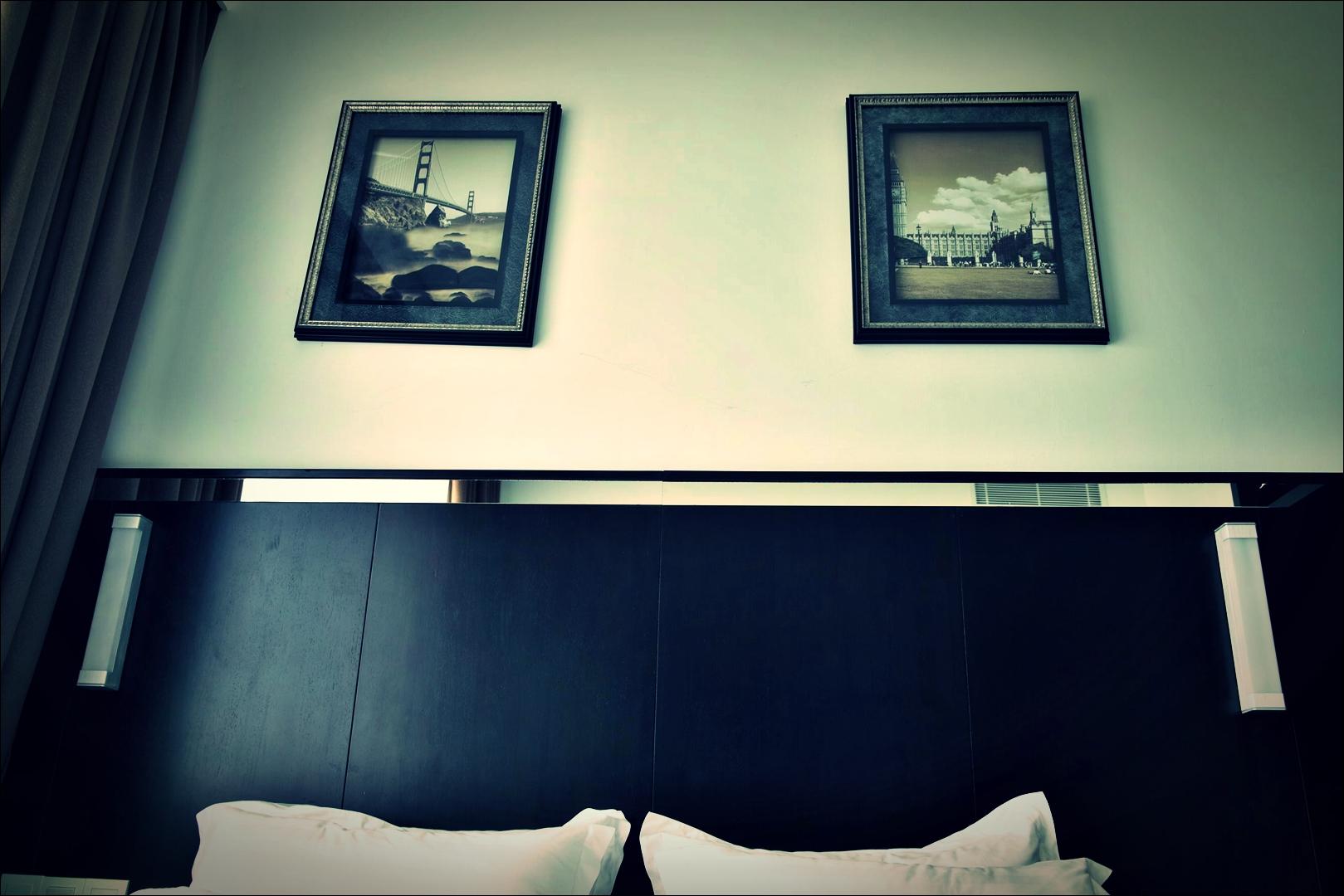 침대-'드림텔 코타키나발루. Hotel Dreamtel Kota Kinabalu.'