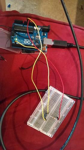 Testing the Tilt Sensor