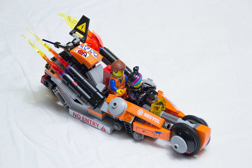 Tnb Review Of The Lego Movie 70808 Super Cycle Chase Toys N Bricks Lego News Blog