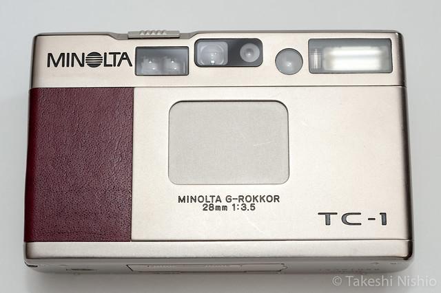 Minolta TC-1, Re-skin
