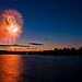 2014 - Fourth of July - Fireworks at Sunset by mosley.brian