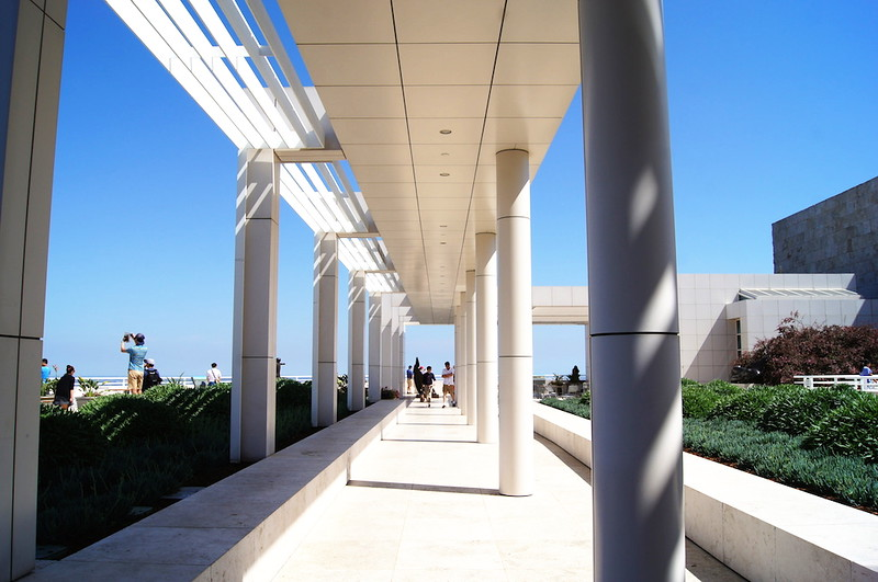 White walkway.