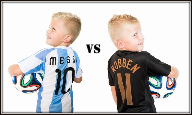 Nederland - Argentinie (09-07-2014).