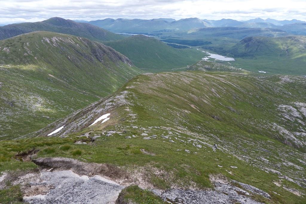 East ridge of Stob Coir'an Albannaich