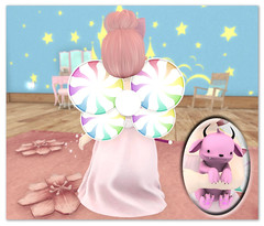 Look No. 1 Candy Fairy Princess Back
