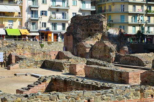 Ruins of the palace of Galerius, ca. 300, Thessaloniki (1)