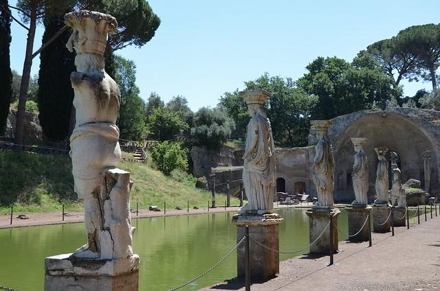 The Canopus, Hadrian's Villa, Tivoli