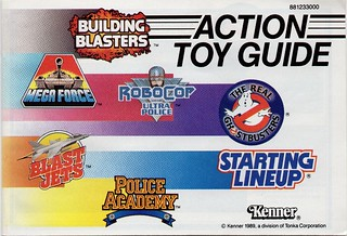 1989 Kenner Action Toy Guide A