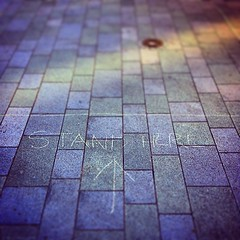 stand here #tudorsquare #sheffield