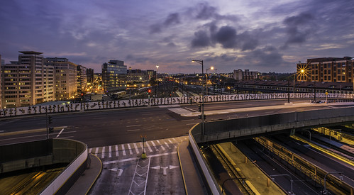From the Top of the Rail Station by Geoff Livingston