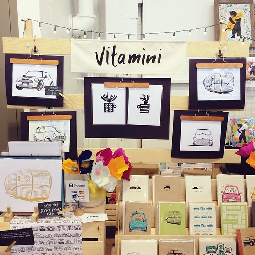 Vitamini at Renegade SF summer fair, 2014