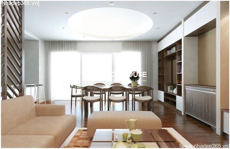 Thiết kế nội thất chung cư CT2_2