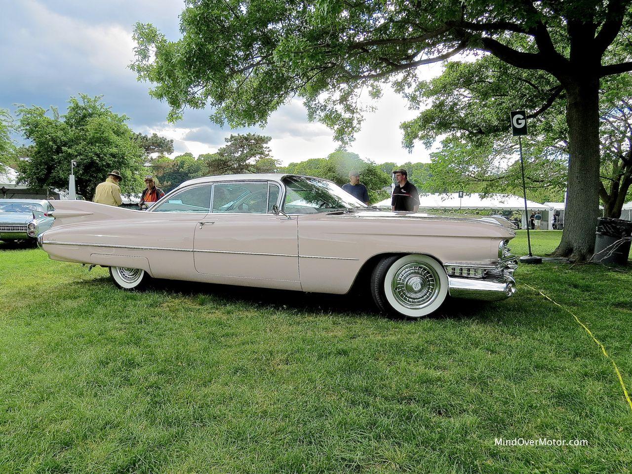 1959 Cadillac Coupe DeVille Profile